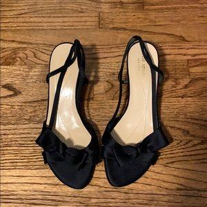 Kate Spade Kitten black heels